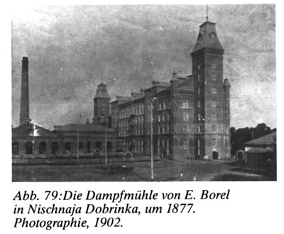"Photograph from ""Wolgadeutsche Architektur"" by Dr. Sergei Terjochin, great-grandson of German Russian settler Andreas Stoll, a steam-mill owner Engels (Pokrovsk), 1897."