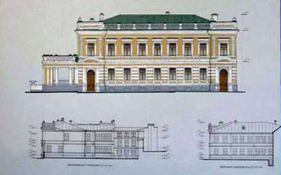 A. K. Reineke house in Saratov - now an art museum