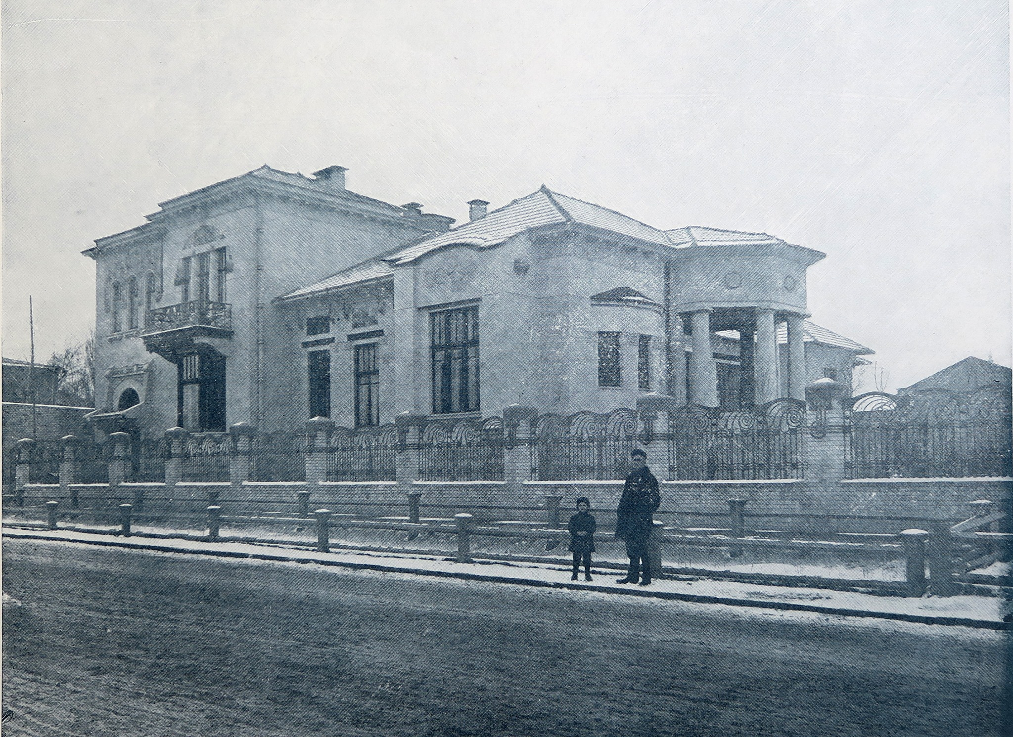 Reineke house in Saratov circa 1910. Courtesy of the Saratov Project.