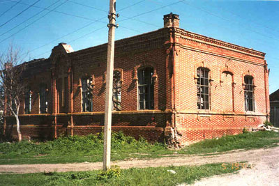 Former school and prayer house in Anton.